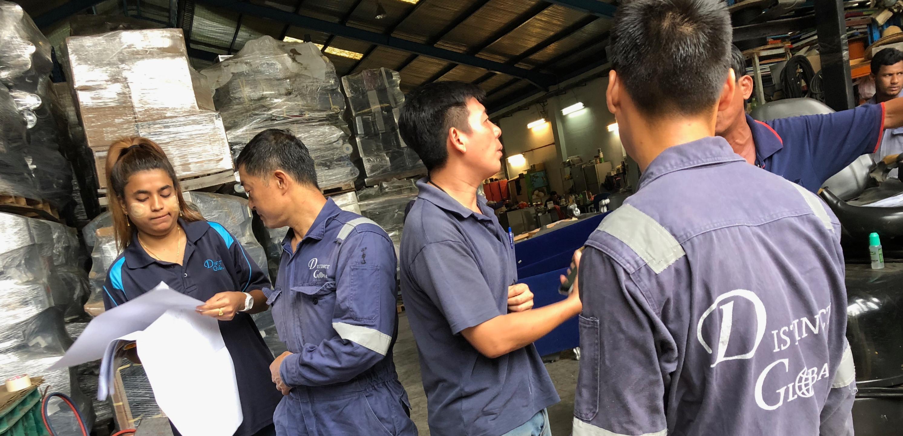 Distinct Global Pte Ltd | Logistics and Engineering | Singapore