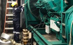 Dismantling of generator.