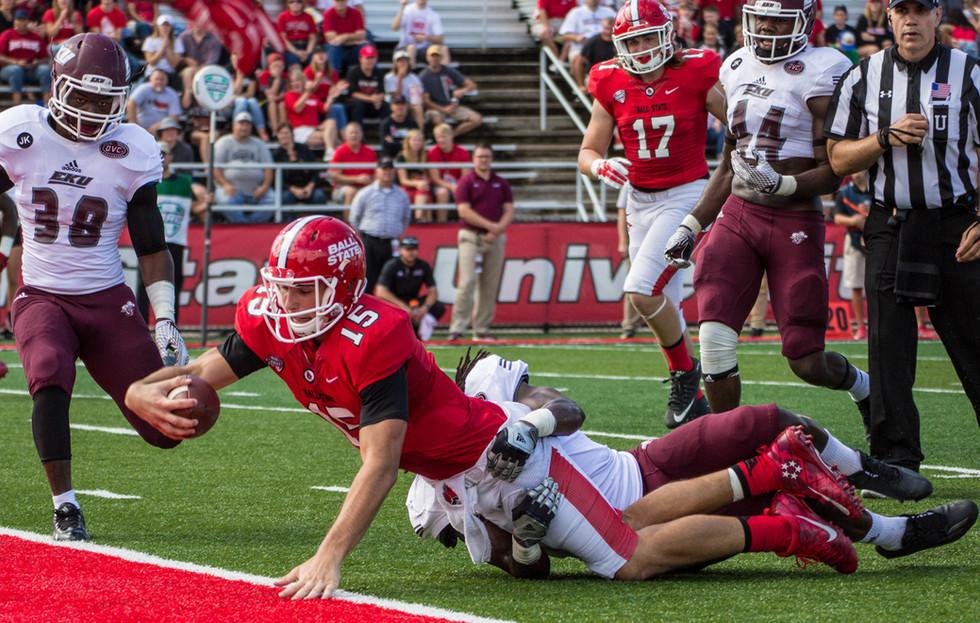Football — Ball State vs. Eastern Kentucky
