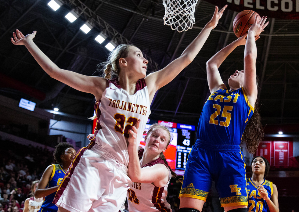 Girls' Basketball — Barren County vs. Warren East