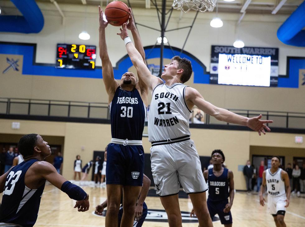 Boys' Basketball — Warren Central vs. South Warren