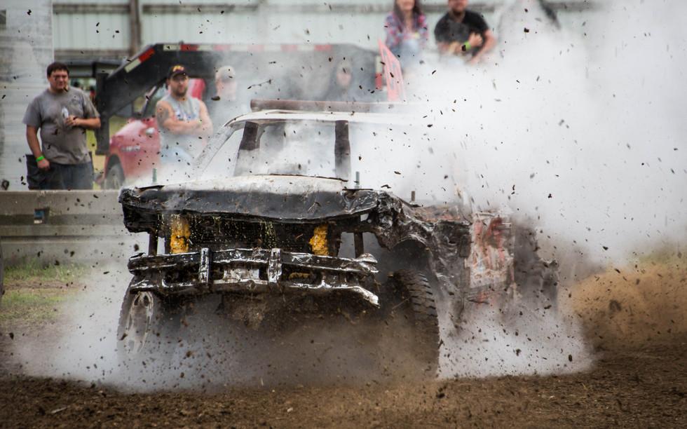 Demo Derby — 2017 Day County Fair Demolition Derby
