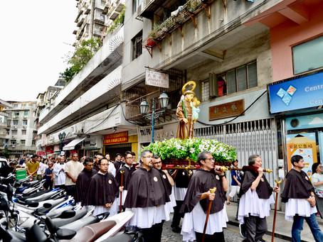 澳門聖安多尼聖像出遊