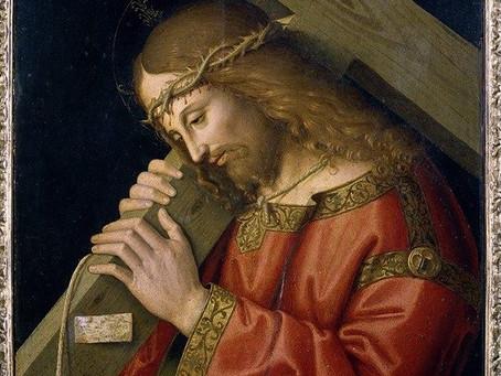 四旬期「美麗之道」:《耶穌背負十字架》