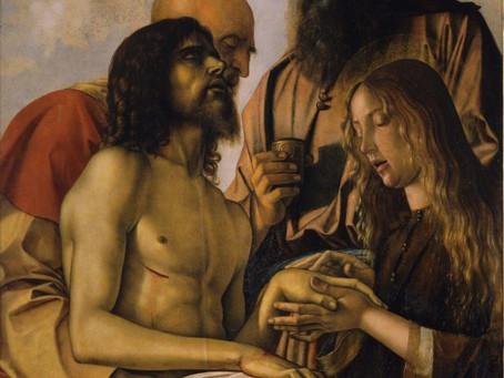 四旬期「美麗之道」:《哀悼基督的死亡》