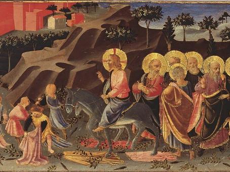 四旬期「美麗之道」:《基督榮進耶路撒冷城》