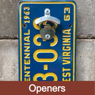 Industrial strength magnets catch bottlecaps on the front of the opener like magic. Display indoor or outdoors with weather resistant materials! (Mounting screws included)