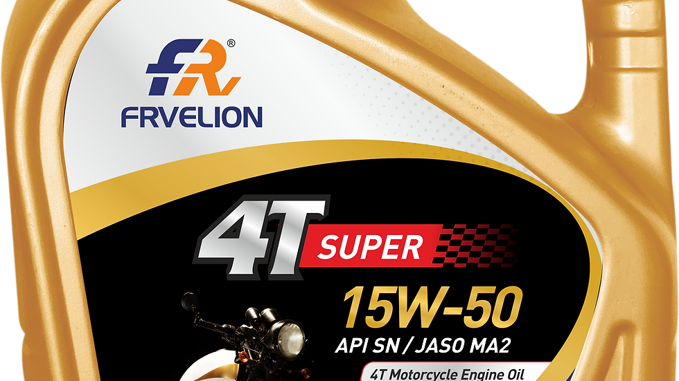 FRV 4T Super 15W-50 SN BIKE ENGINE OIL