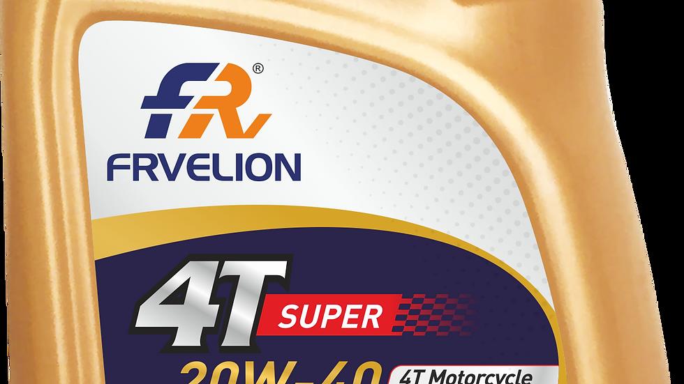 FRV 4T Super 20W-40 Semi Synthetic Bike Engine Oil