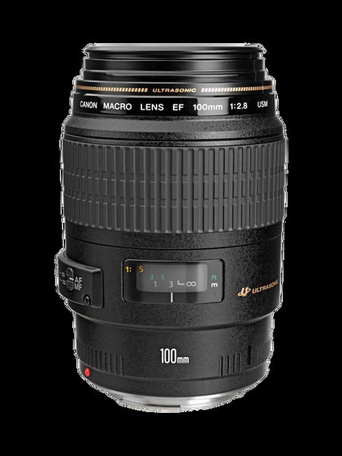 Objetivo Canon EF 100 mm f / 2.8 Macro USM