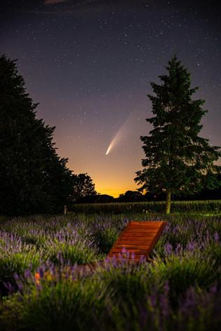 Comet over field.jpg