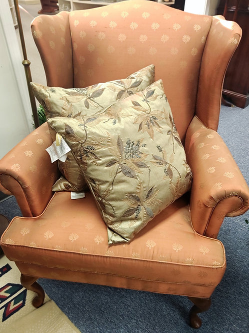 Set of 2 Winged Back Chairs