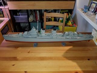 Joe's latest: a WWII USN Blue Devil Destroyer