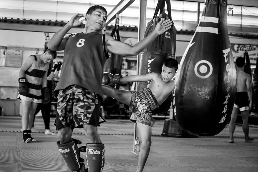 MUAY THAI FIGHTER PORTRAITS
