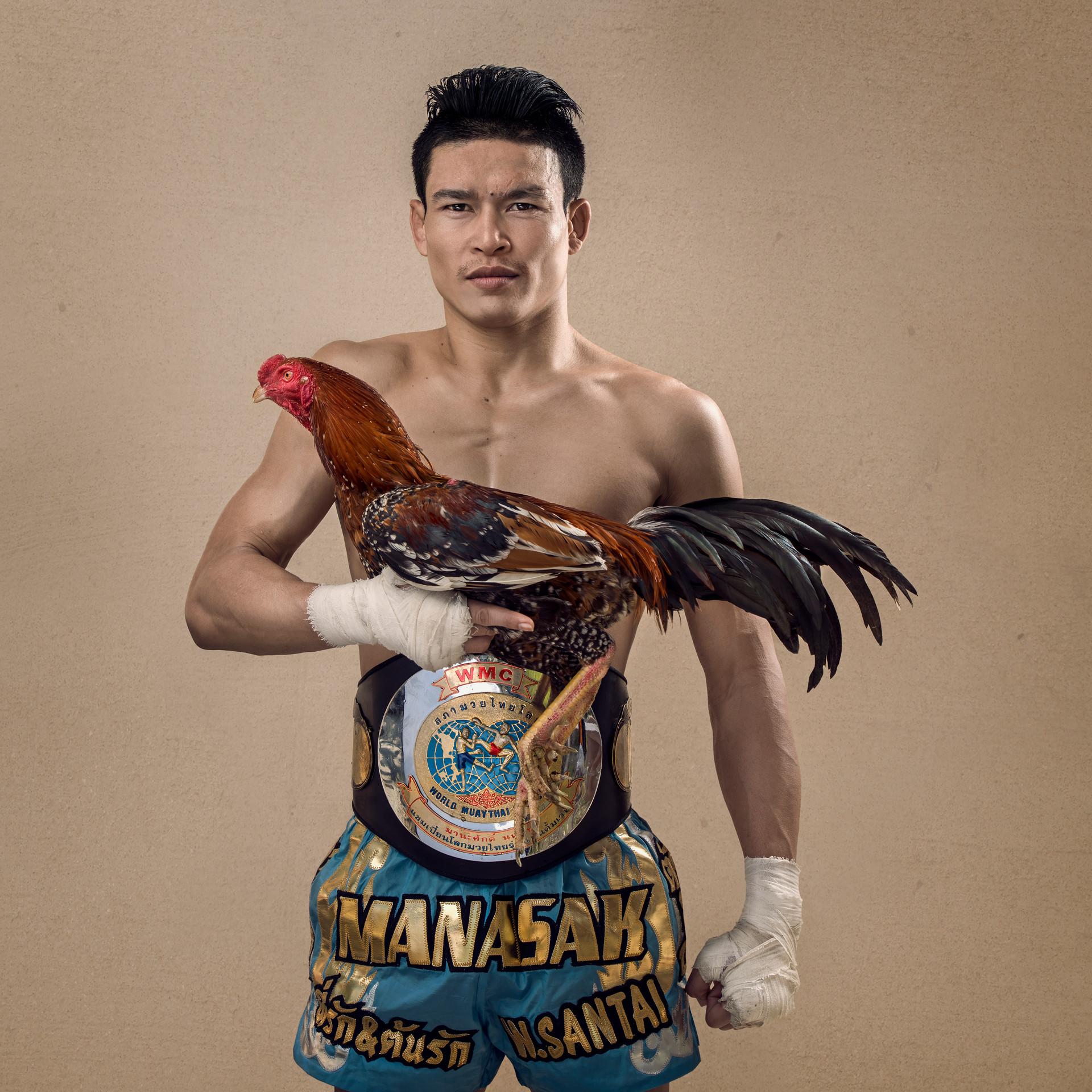 MUAY THAI FIGHTER PORTRAITS