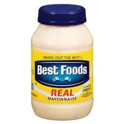 Best Foods Mayonnaise -30 oz