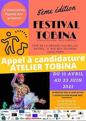 Appel a candidature - Atelier Tobina - R