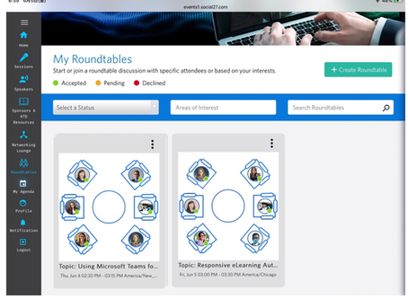 ATD Virtual Conference 5 - Roundtables