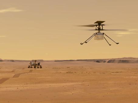 INGENUITY: O pequeno helicóptero está fazendo história