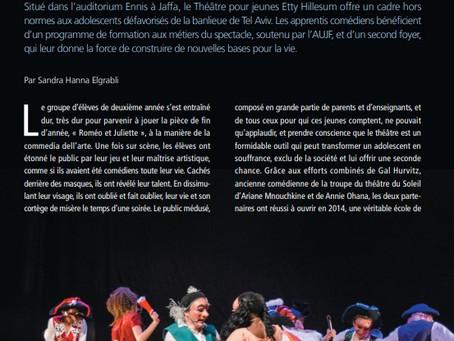Théâtre Etty Hillesum :un passeport pour la vie
