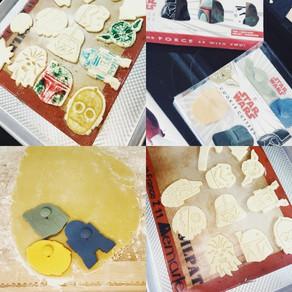 Christmas Cookies, Stars Wars Style
