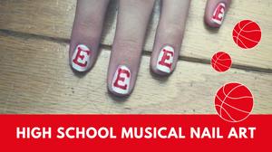 High School Musical Nail Art