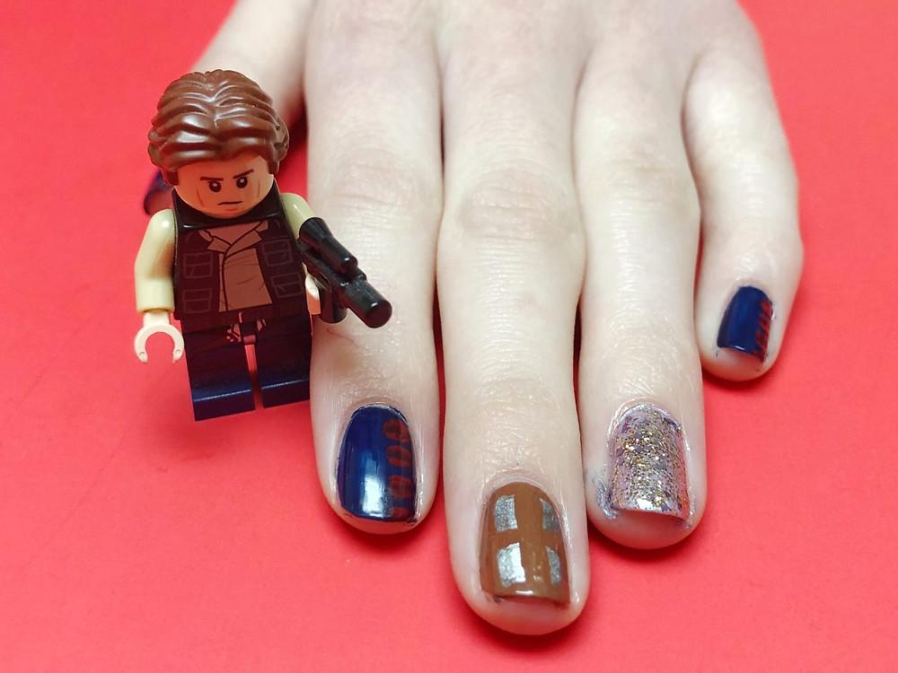 Han Solo Nail Art
