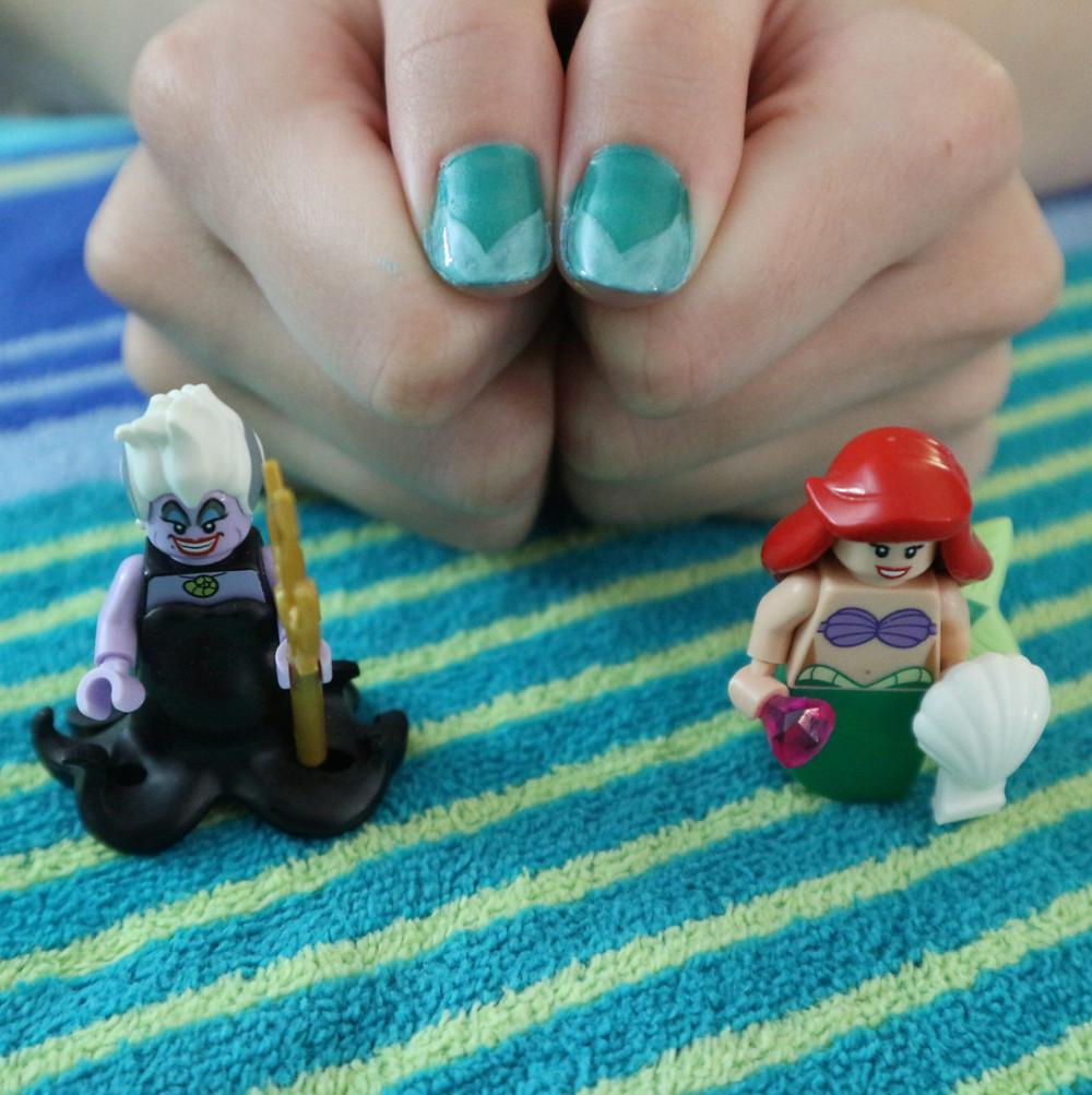 The Little Mermaid Nail Art