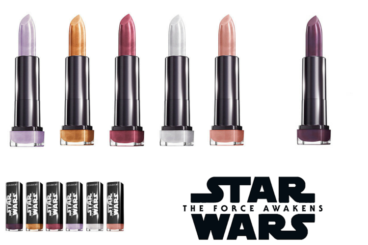 CoverGirl Star Wars Limited Edition Lipsticks $5.99 - $7.99