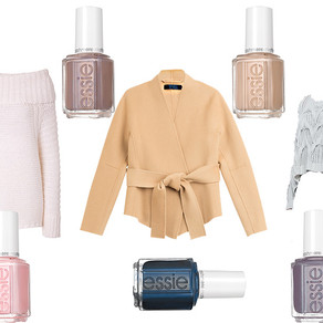 Essie + Donna Karan = Cashmere Perfection