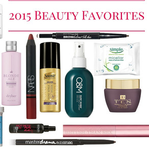 Year in Review: 2015 Beauty Favorites