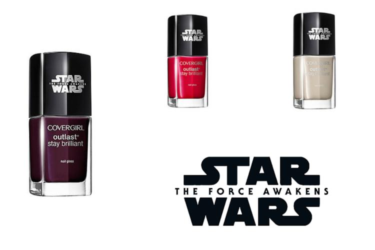 CoverGirl Star Wars Nail Gloss  $4.99 - 6.99