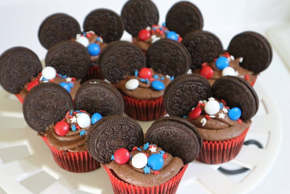 Cousins Who Disney Mickey Mouse Cupcakes
