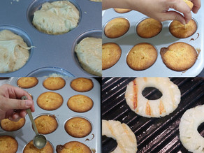 Disney DIY ~ Dole Whip Cakes