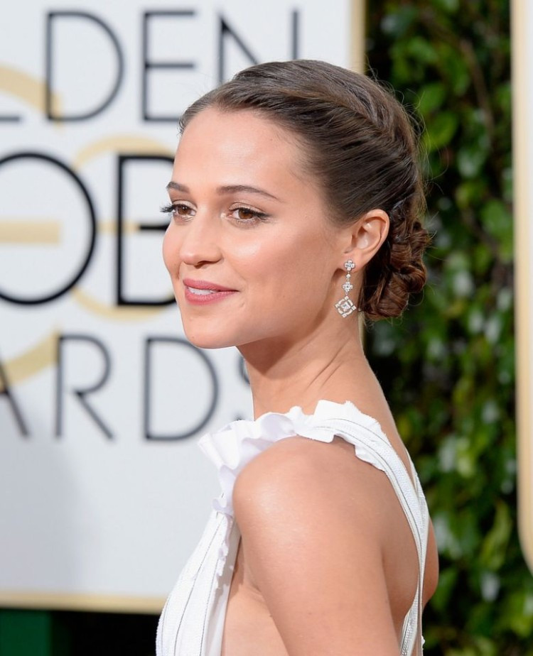 Alicia Vikander+Golden+Globes+2016+2