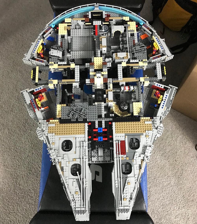 Cousins Who Disney LEGO Millennium Falcon