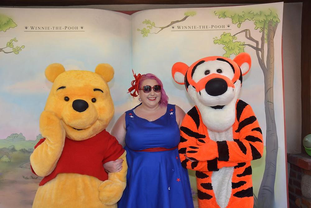 Pooh Bear and Tigger