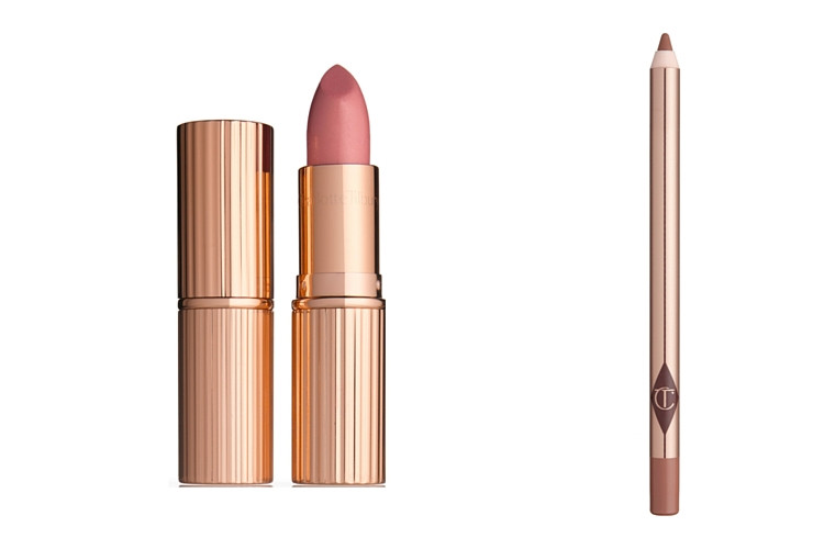 Lily+James+Charlotte+Tilbury+Lips