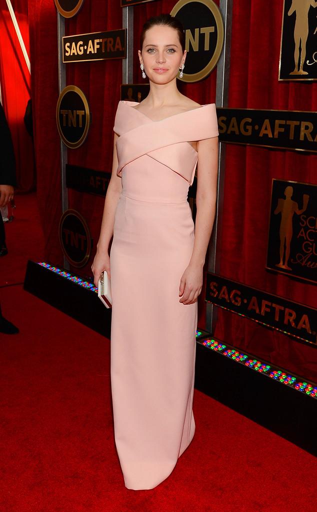 Felicity+Jones+Balenciaga