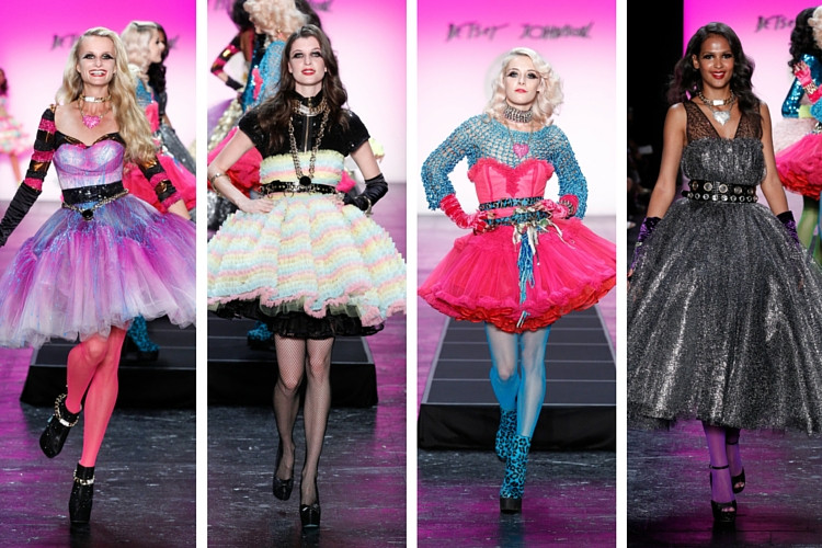 Betsey Johnson NYFW SS16 Limelight