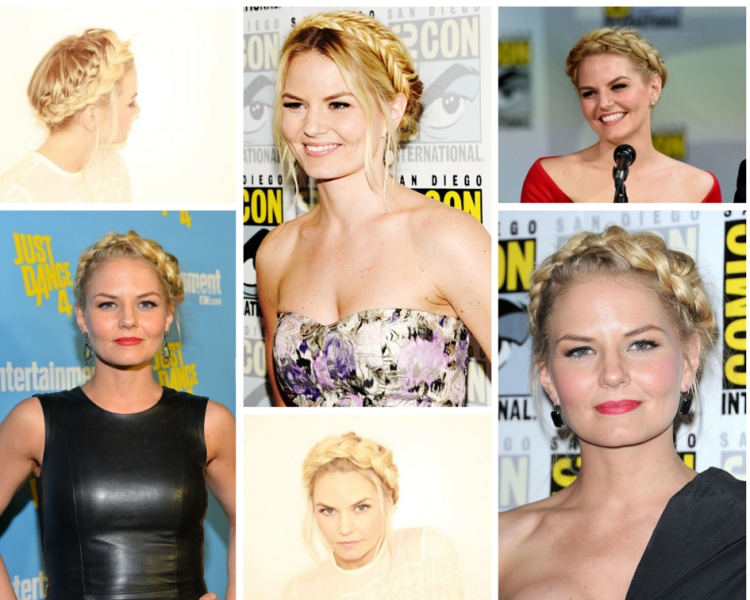 Jennifer+Morrison+Crown+Braids