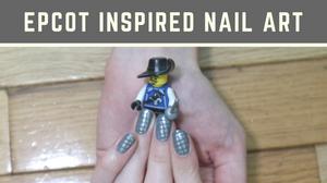 Epcot nail art