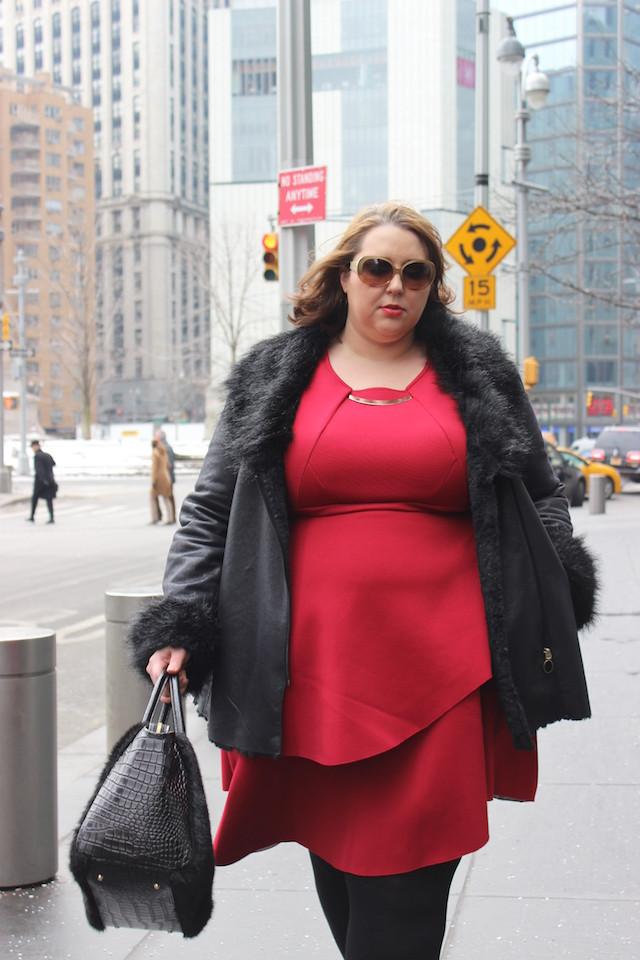 Misti+Schindele+NYFW+Street+Style+Day1+Eloquii+DKNY+1