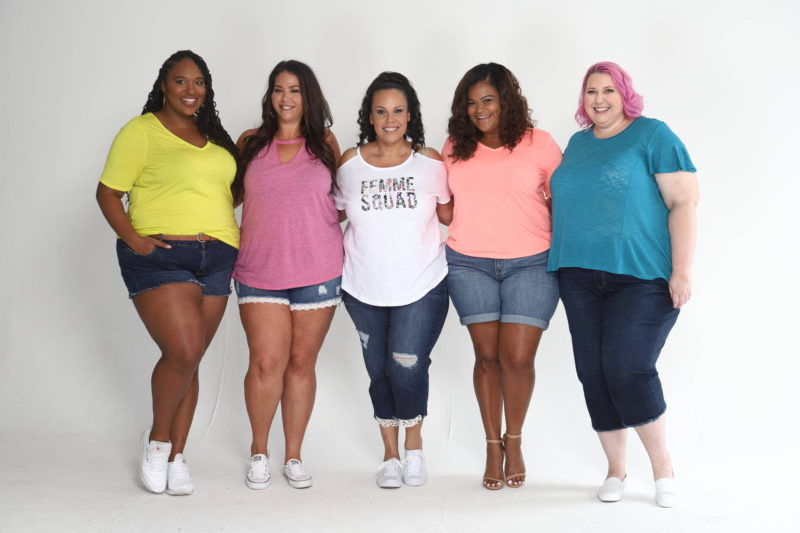 Lane Bryant Plus Model Mag Summer Style