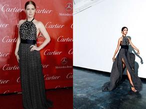 Amy Adams Stuns in Juan Carlos Obando Gown