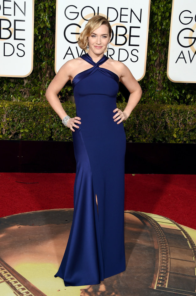 Kate Winslet+Golden+Globes+2016