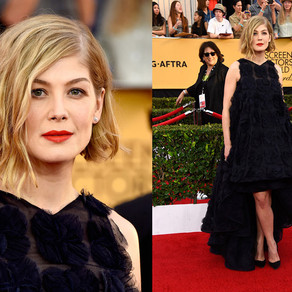 Beauty Get the Look: Rosamund Pike at the 2015 SAG Awards
