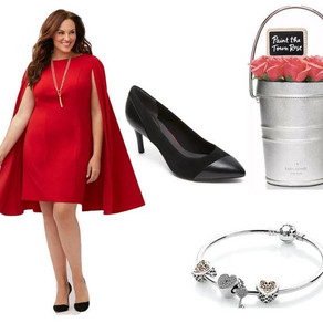 Look of the Week: Lane Bryant Adrianna Papell Cape Sheath