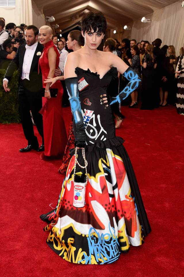 "NEW YORK, NY - MAY 04:  Katy Perry attends the ""China: Through The Looking Glass"" Costume Institute Benefit Gala at the Metropolitan Museum of Art on May 4, 2015 in New York City.  (Photo by Larry Busacca/Getty Images)"