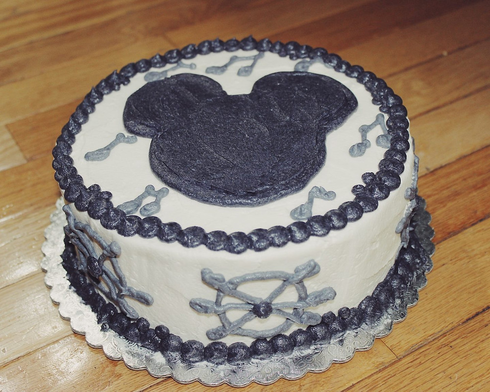 Happy 90th Birthday Mickey Cake